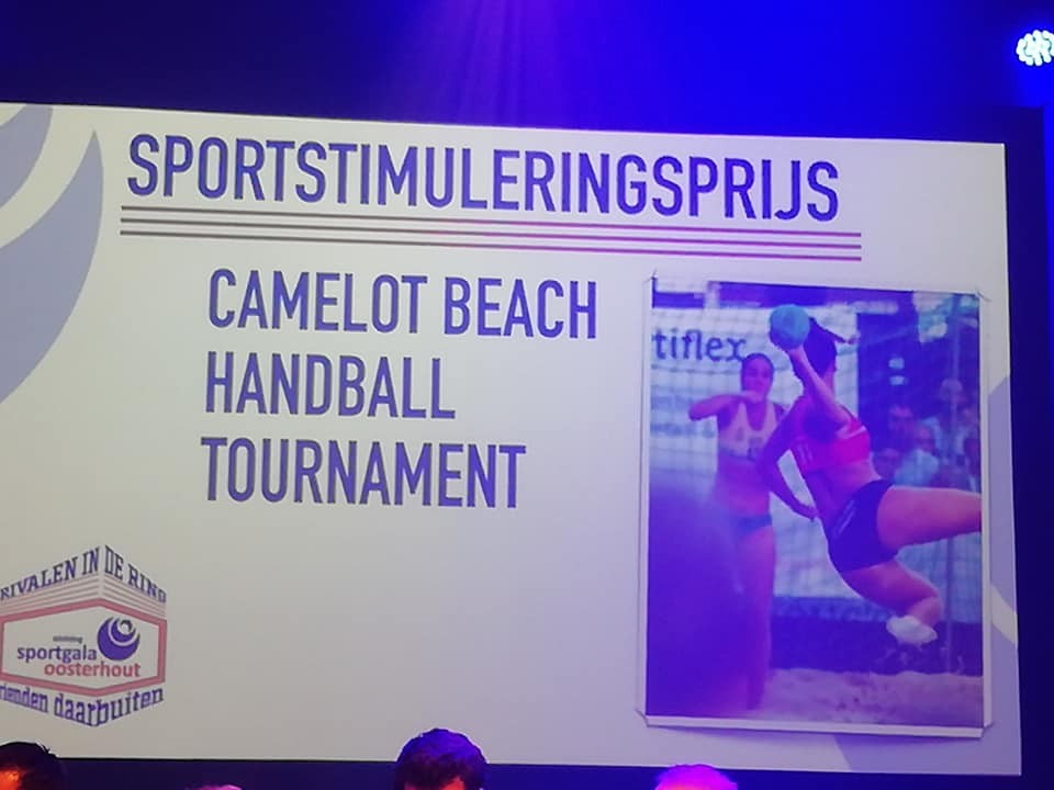 Sportstimuleringsprijs beach handbal