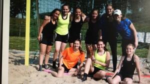 B jeugd beachhandbal