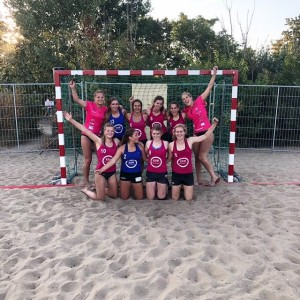 NK Beach handbal OHC dames A