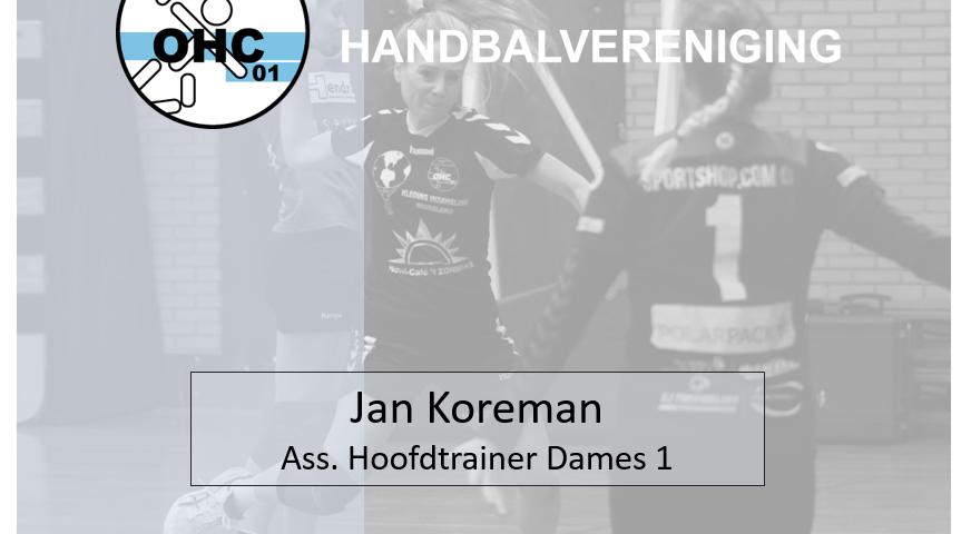 Jan Koreman - Trainer OHC 01