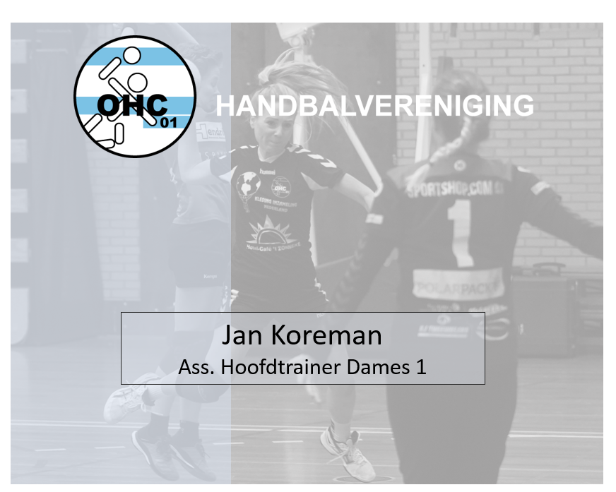 Jan Koreman - Trainer OHC 01